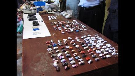 Iquitos: decomisan más de siete mil ketes de PBC