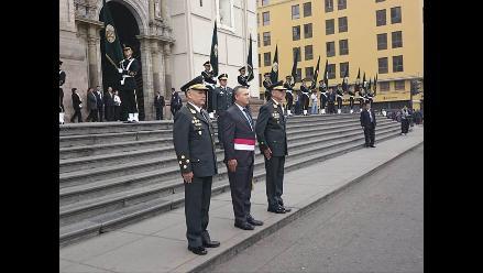 Rinden Misa en homenaje a la Policía Nacional del Perú