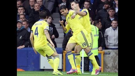 ¡Partido épico! Chelsea venció 6-3 a Everton y Diego Costa sigue anotando