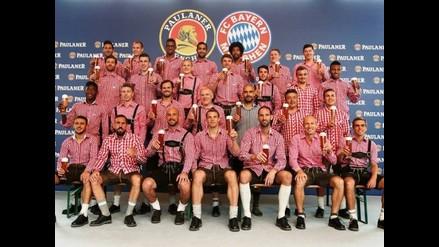 Bayern Munich con Pizarro y Xabi Alonso cumplen con tradición de Bavaria