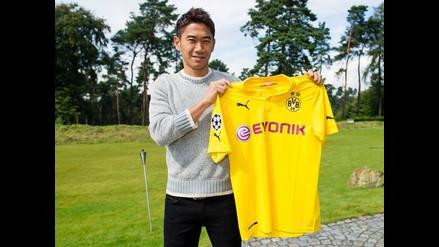 Shinji Kagawa vuelve al Borussia Dortmund por cuatro temporadas