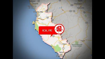 Sismo de 5.5 grados en la escala de Richter se sintió en Ica