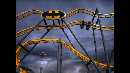La nueva y terrorífica montaña rusa de Batman