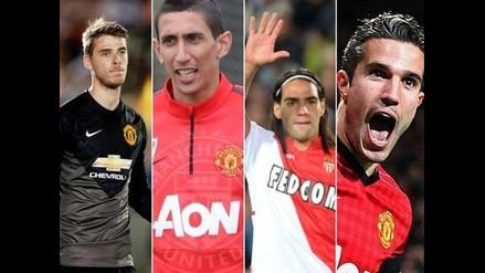 Manchester United: El posible once con Falcao y sus nuevos refuerzos