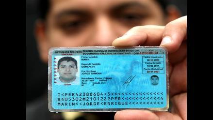 Cusco: Reniec invoca la renovación del DNI caduco