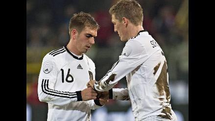 Schweinsteiger agarra capitanía dejada por Philipp Lahm en Alemania