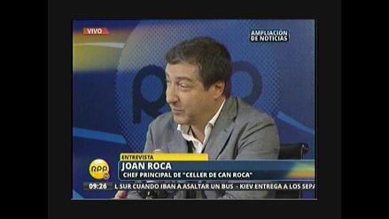 El famoso Celler de Can Rosa se traslada a Lima por unos días