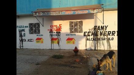 Chiclayo: candidata distrital denuncia campaña sucia