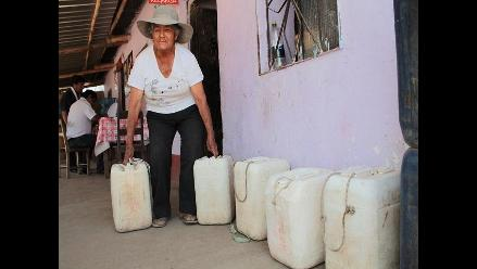 Lambayeque: más de 10 mil pobladores de Olmos sin agua potable