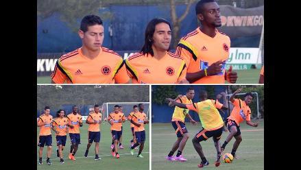 Colombia ya piensa en Brasil con Radamel Falcao y James Rodríguez