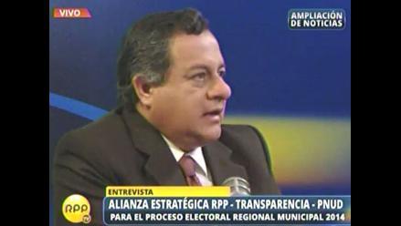 Alianza RPP-Transparencia-PNUD alista debates en Cajamarca y Ancash