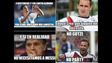 Mira los curiosos memes que dejó la revancha de Argentina ante Alemania