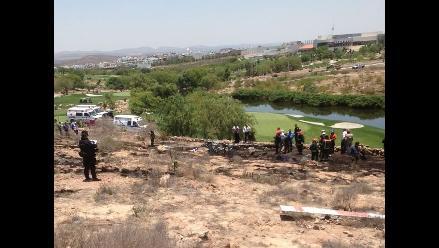 Ayacucho: helicóptero se estrella y deja dos muertos en Andamarca