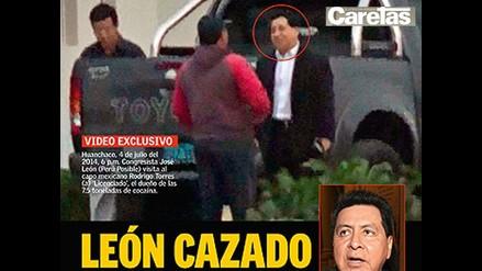 Denuncian que José León visitaba a narco que arrendaba su casa
