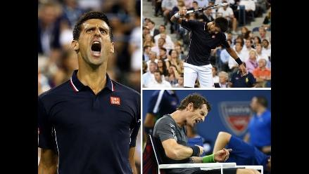 US Open: Los graciosos gestos que dejó el triunfo de Djokovic sobre Murray