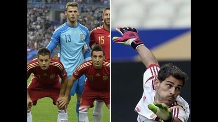 David De Gea le ganó la pulseada a Iker Casillas y es titular en España