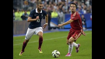 España sigue de capa caída al perder 1-0 con Francia en duelo amistoso