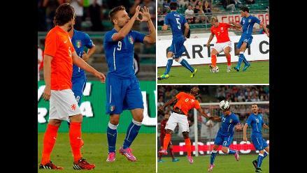 Revive el triunfo de Italia sobre Holanda en el amistoso por Fecha FIFA