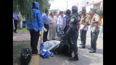 Chiclayo: mujer con alteraciones mentales muere al arrojarse de mototaxi