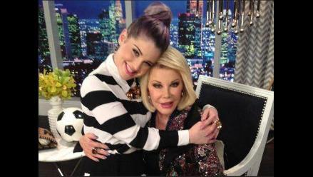 Kelly Osbourne: Mi vida sin Joan Rivers nunca será la misma