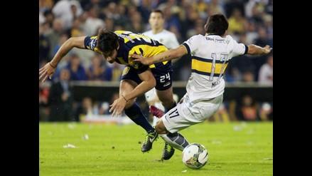 Sudamericana: Boca Juniors se deja empatar 1-1 por Rosario Central