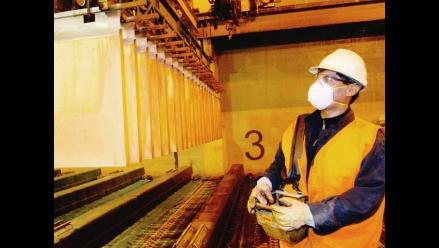 Precio mínimo del cobre se recupera en dos semanas