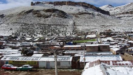 Arequipa: lluvias y nevadas se registrarán en zonas altas