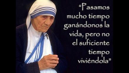 Las diez frases de la Madre Teresa de Calcuta a 17 años de su partida