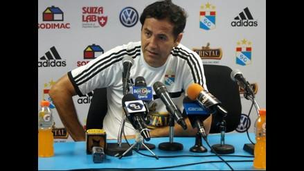 Sporting Cristal: Daniel Ahmed no se inquieta por supuesta llegada de Uribe