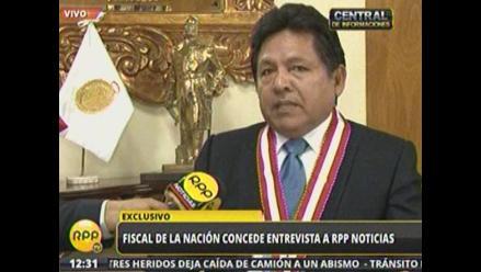 Áncash: recojerán 100 mil firmas para pedir cese de fiscal de la Nación