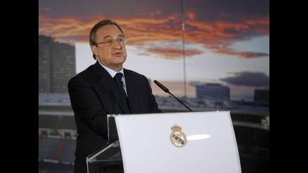 Florentino Pérez: Lo que pedía Di María sólo lo gana Cristiano. No aceptamos