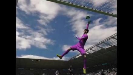 Nuevo tráiler de FIFA 15 dedicado a los arqueros