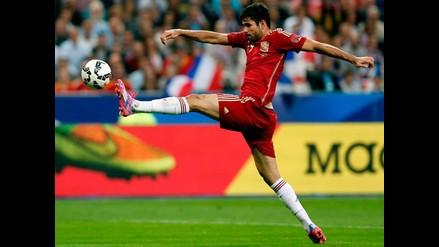 Diego Costa se lesiona y abandona concentración de España