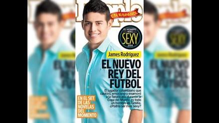 James Rodríguez es el hombre más sexy del año, según People