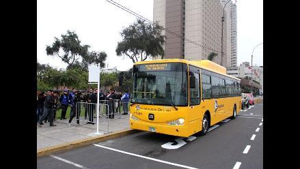 Mistura 2014: Buses alimentadores del Metropolitano van a feria