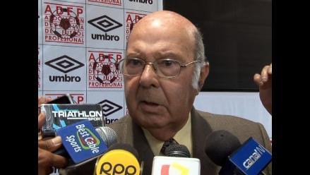 Enrique De La Rosa entre lágrimas a De Souza: Perdemos un buen dirigente
