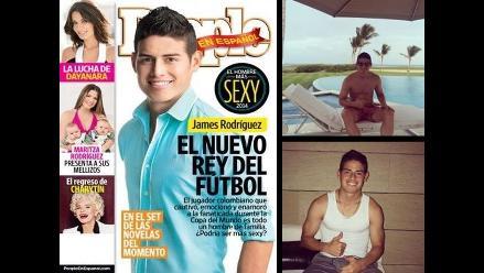 James Rodríguez y las fotos que lo hacen el ´hombre más sexy´ de 2014