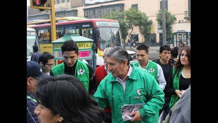 Candidatos distritales del PPC reciben amenazas, denunció Jaime Zea