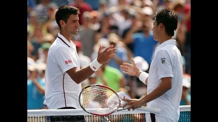 Novak Djokovic quedó fuera de la final del US Open al caer con Nishikori