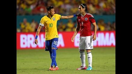Brasil: Dunga destaca juego de Neymar tras el triunfo ante Colombia