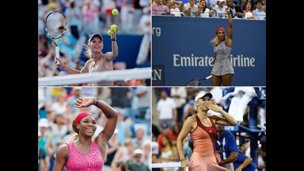 US Open: Serena Williams y Caroline Wozniacki en una final inédita