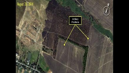 Amnistía difunde imágenes que prueban la intervención rusa en Ucrania