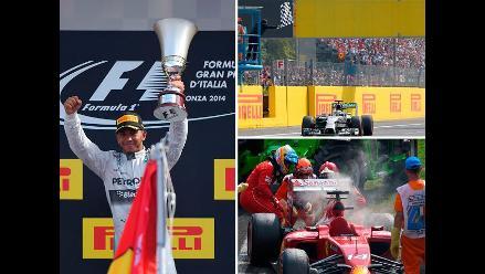 Fórmula Uno: Revive el triunfo de Lewis Hamilton en terreno de Ferrari