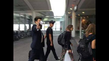Kim Hyun Joong llegó a Lima antes de lo previsto para show