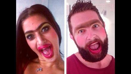 Tindafella, el hombre que imita tu pose sexy en redes sociales