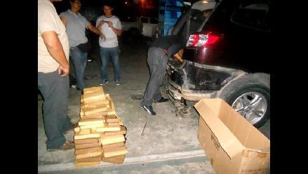 Autoridades hallan 300 kilos de cocaína en un vehículo en Costa Rica