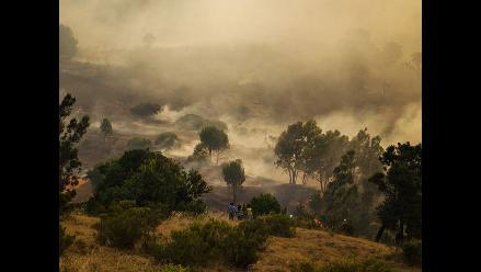 EEUU: Incendio en parque de Yosemite obliga a evacuar a 185 excursionistas