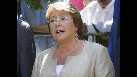 Michelle Bachelet: ´Chile es y seguirá siendo un país seguro´