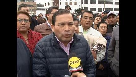 Transportistas del Callao protestan contra el Corredor Azul