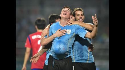 Uruguay superó 1-0 a Corea del Sur en duelo amistoso en Seúl